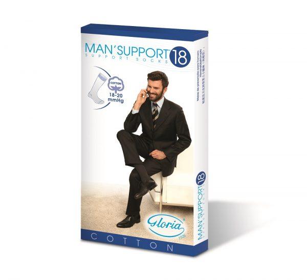 Man Support Cotton 18