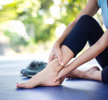Why do my legs ache when it's hot?